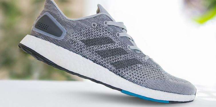 a running shoe