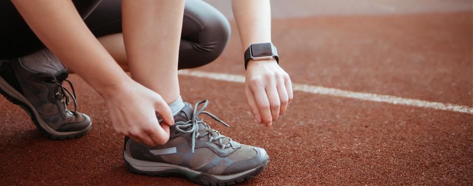 a woman runner