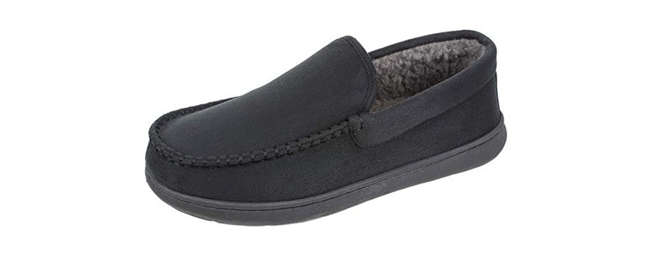 dockers men's douglas moccasin premium slippers