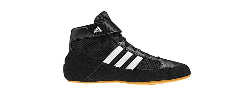 adidas men's boy's hvc2 wrestling mat shoe