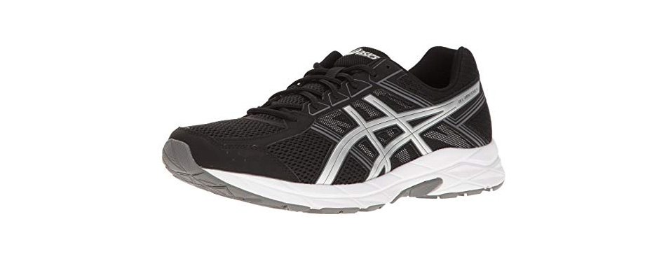 asics men's gel-contend 4 shoes for walking on concrete