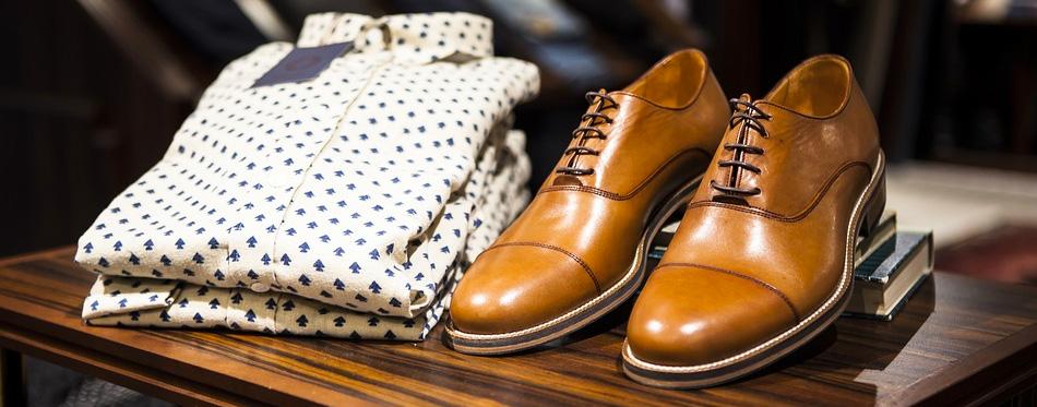 brown leather elegant shoes for men