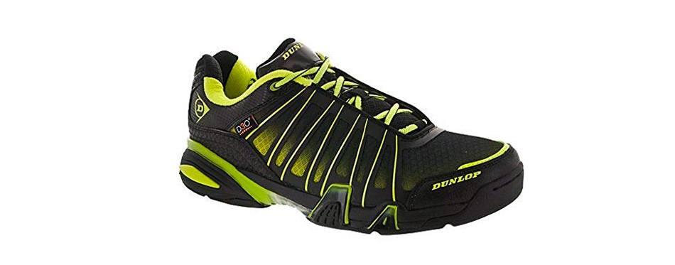 dunlop men's tour indoor court shoe
