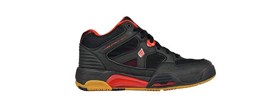 ektelon men's nfs attack synthetic mid racquetball shoes