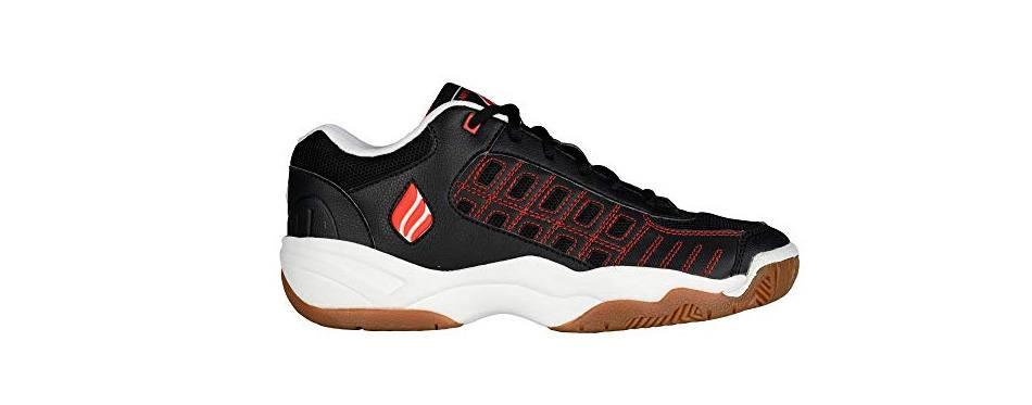 ektelon men's nfs classic ii leather low racquetball shoes
