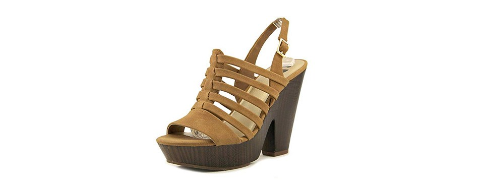g by guess seany2 casual slingback sandals