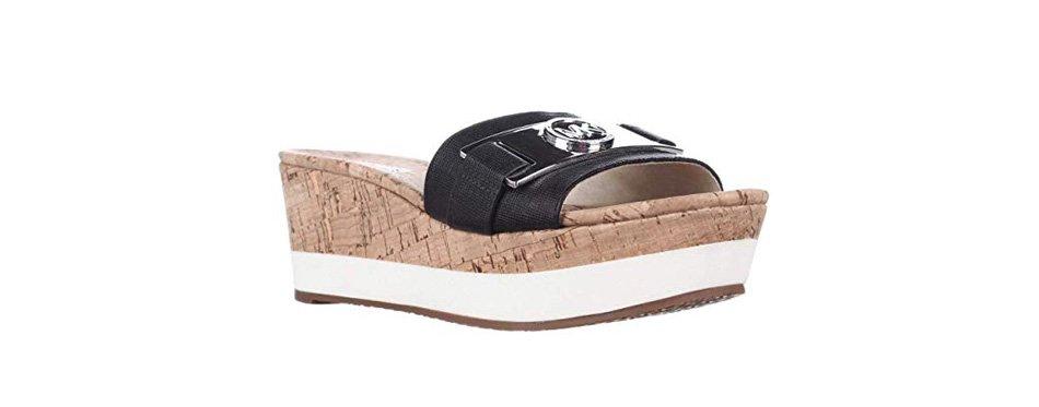 michael kors warren platform sandals