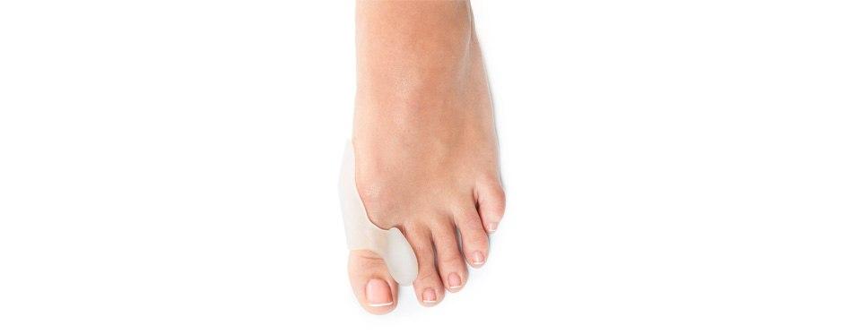 natracure gel big toe bunion guards & toe spreaders
