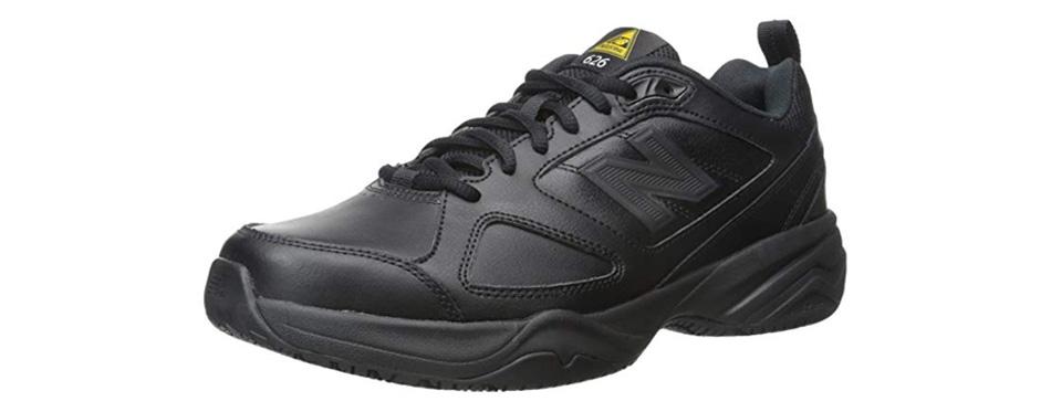 new balance men's slip resistant lace up