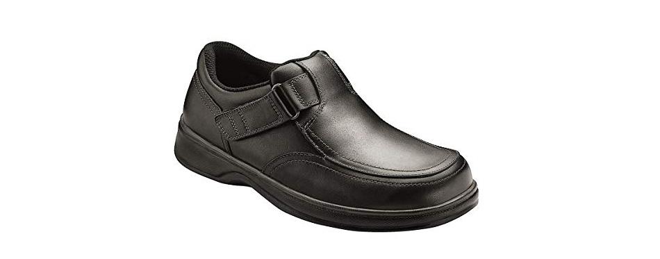 orthofeet carnegie men's walking shoes