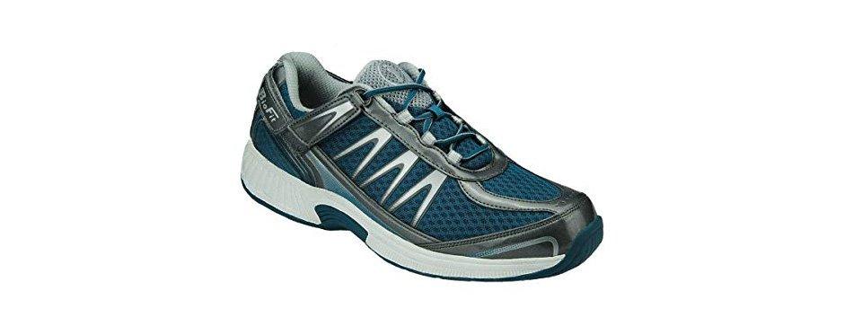 orthofeet men's sneakers