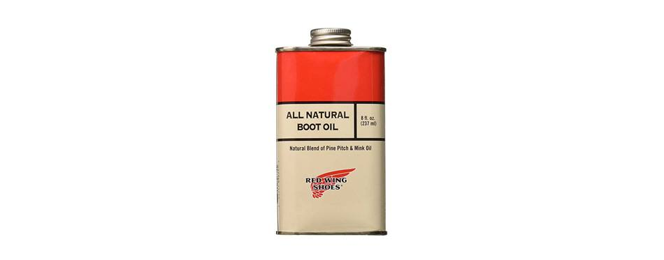 red wing heritage all-natural boot oil-u