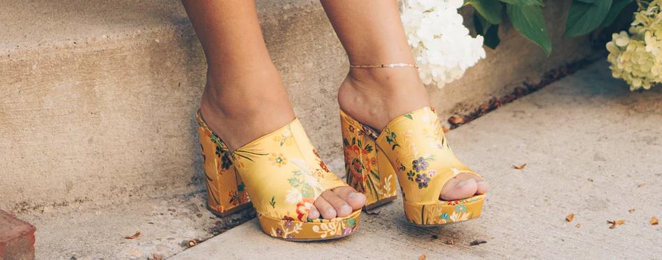 sandals with platform heels
