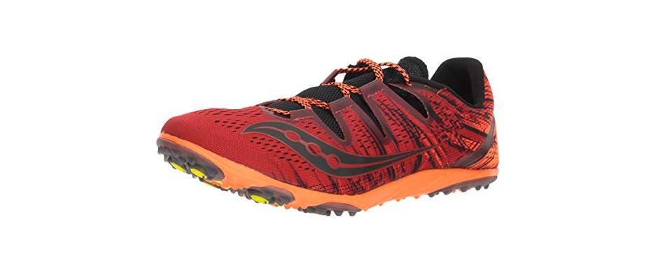 saucony men's carrera xc 3 flat track shoe