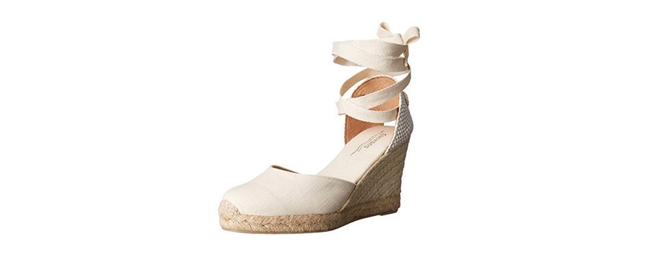 soludos women's tall wedge sandal