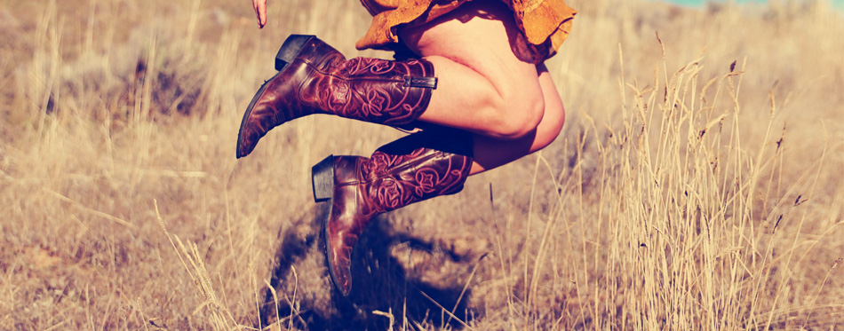 Dan Post Women's Sexy Back Western Boots