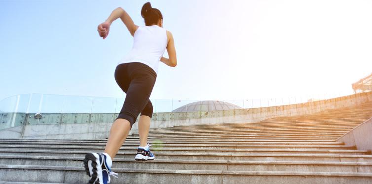 a female runner