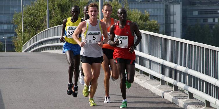 a group of ultramarathon runners