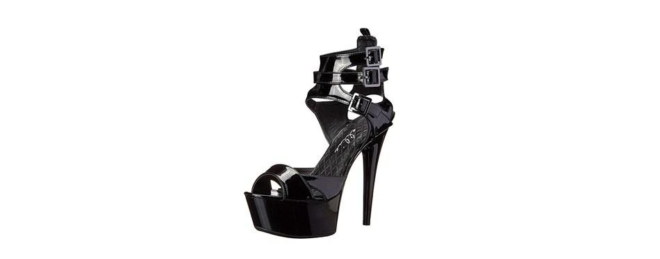 ellie shoes women's 609-athena platform sandal