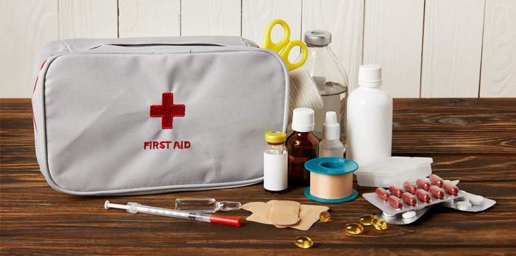 first aid material