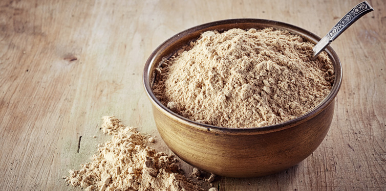 maca powder in a bowl