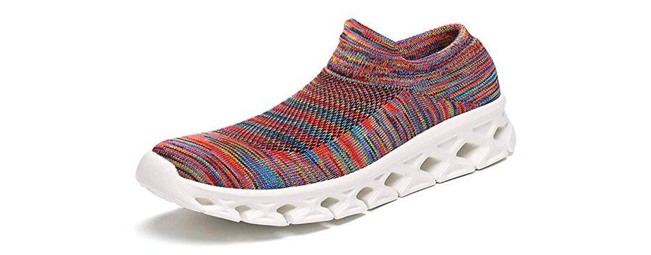 slowman socks walking shoes