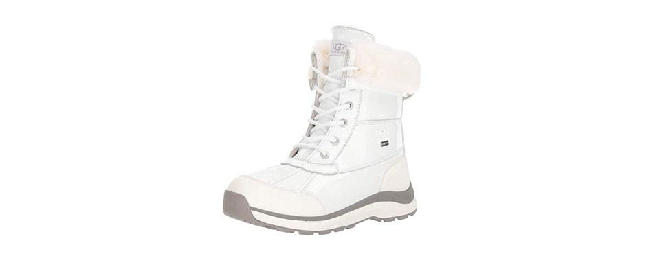 ugg women's w adirondack iii patent snow boot