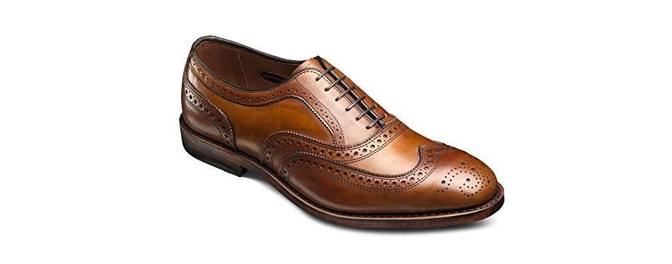 allen edmonds men's mcallister wingtip shoes