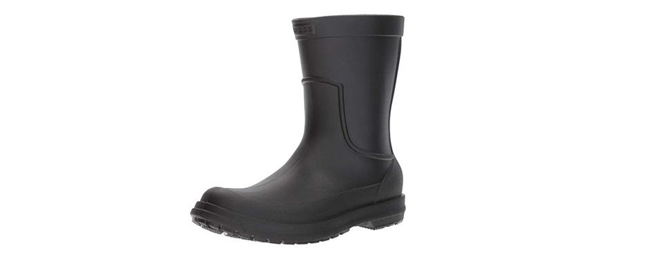 crocs men's allcast waterproof rain boot