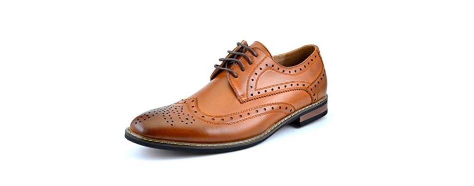dream pairs bruno marc moda italy classic wingtip shoes