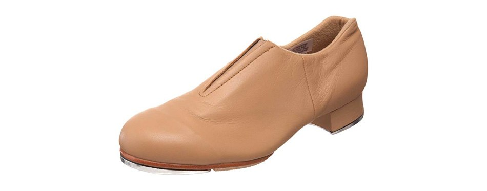 bloch dance women's tap-flex leather slip on tap shoe