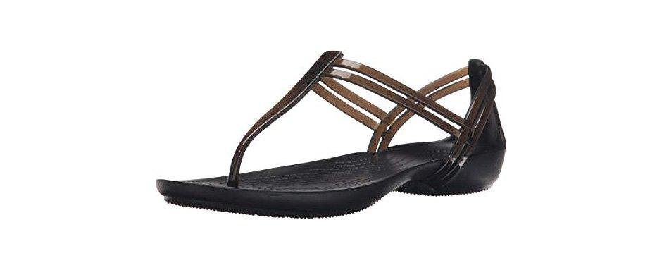 crocs women's isabella t-strap sandal