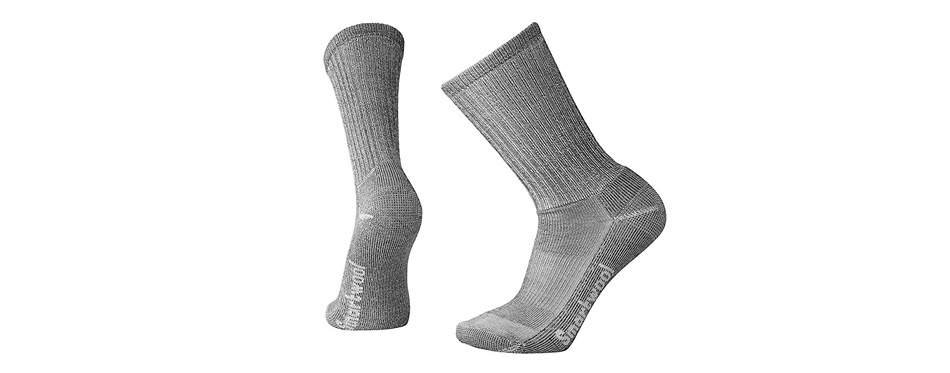 smartwool men's crew hiking socks