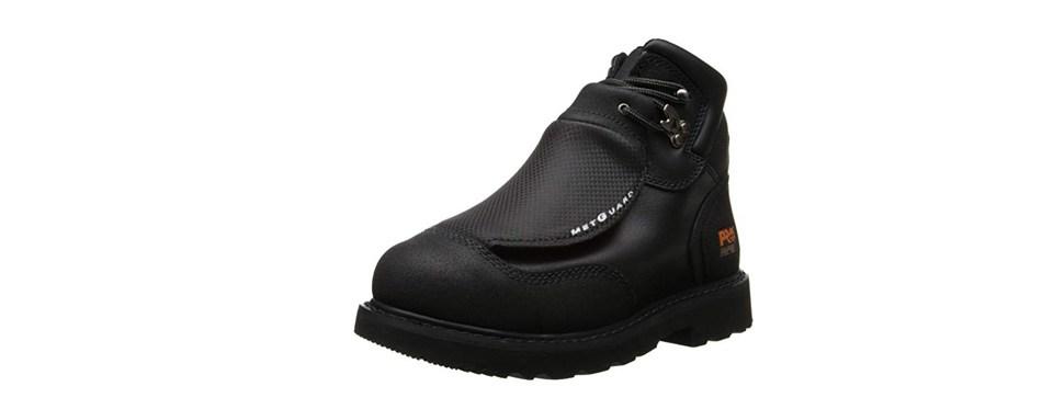 timberland pro men's 40000 met guard 6' steel toe boot