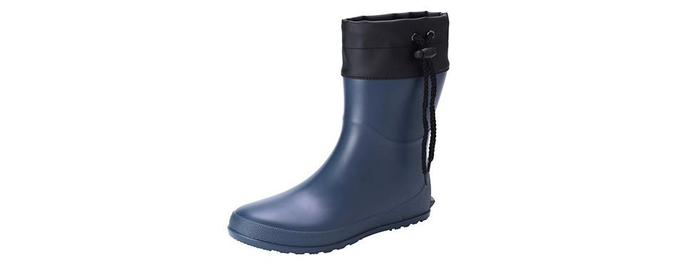 asgard women's mid car collared gardening boots