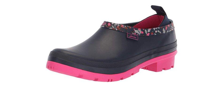 joules women's pop-on rain boots
