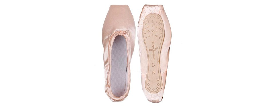 msmax women's pointe shoes