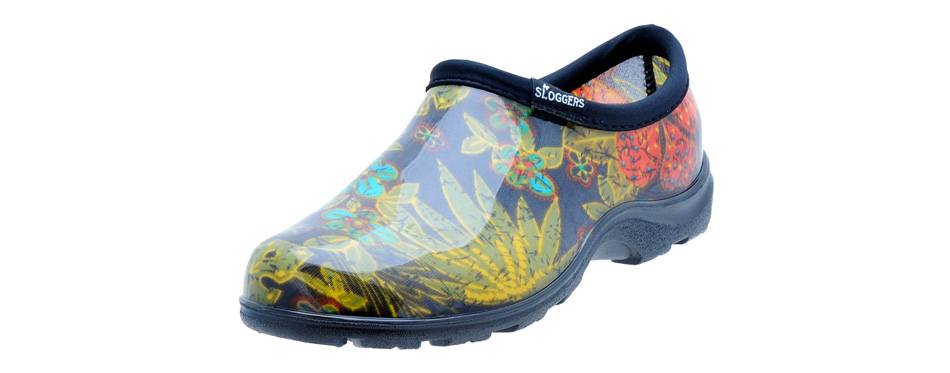sloggers women's short waterproof rain & garden shoe