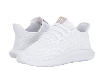 Adidas Originals Men's Tubular Shadow White Sneakers