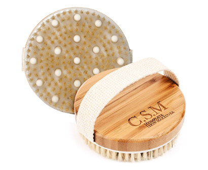 C.S.M. Body Brush for Wet or Dry Brushing