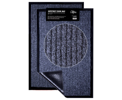 California Home Goods 2-Pack Indoor Outdoor Floor Mats