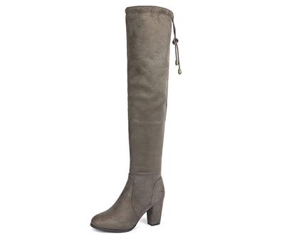 DREAM PAIRS Women's Thigh High Winter Boots