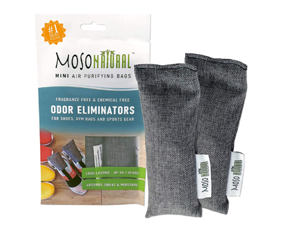 MOSO NATURAL Mini Air Purifying Bag Shoe Deodorizer