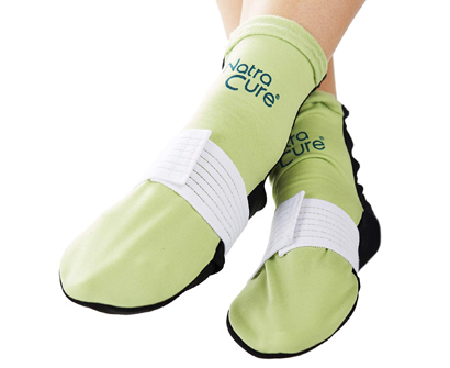 NatraCure Cold Therapy Socks with Compression Strap