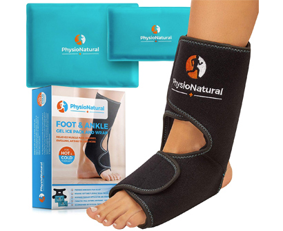 PhysioNatural Foot & Ankle Ice Pack