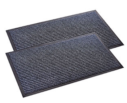 Sierra Concepts 2-Pack Striped Door Floor Mat