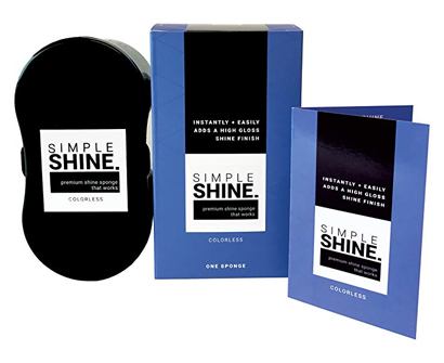 Simple Shine Shoe Shine Sponge
