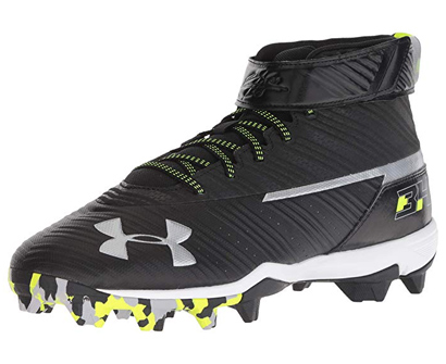 Under Armour Girls' Harper Mid Rm Baseball Shoe