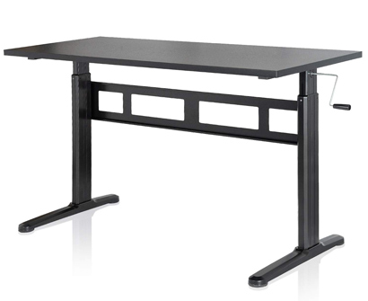 EleTab Manual Height Adjustable Standing Desk