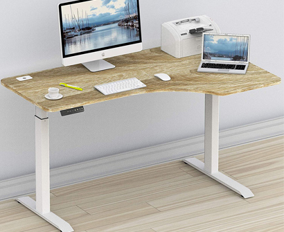 SHW 55-Inch Large Electric Stand Desk